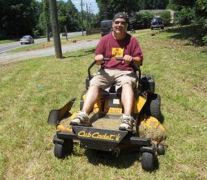 ridingmower