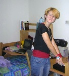 My 1st day at Johnson in 2004. My, how things have changed.